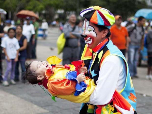 Clowns gather in Guatemala