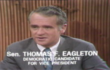 Eagleton speaks after stepping down as VP candidate