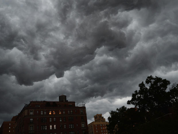 Violent storms slam Northeast