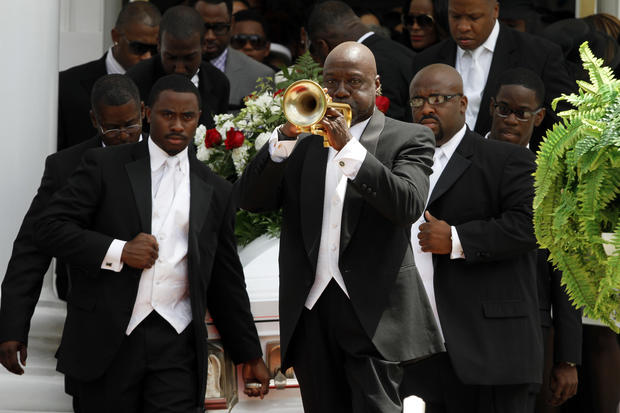 Kile Glover, Usher's stepson, laid to rest