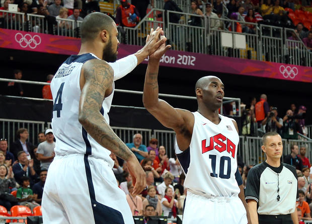 U.S. Olympic men's basketball team wins gold