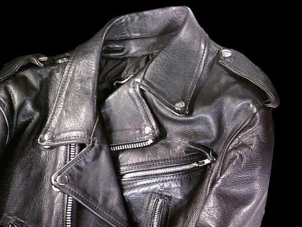 Black leather jacket: Iconic cool fashion