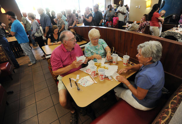 Politicians flock to Chick-fil-A