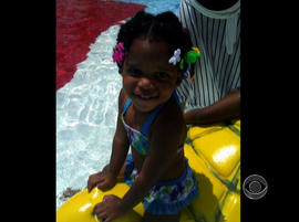 Jazmin Green, 2, died after she was left in a hot van outside a Georgia day care center.