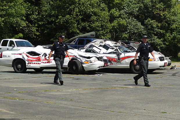 Roger Pion Vt Man Accused Of Crushing Cop Cars With Farm Tractor