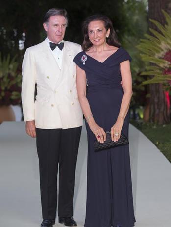 Monaco's Red Cross Ball 2012