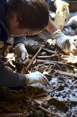 Mexico, aztec, burial