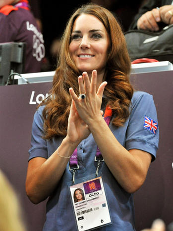 Duchess Kate at the Olympics