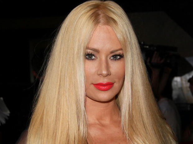 Ex-porn star Jenna Jameson accused of battery