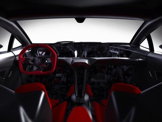 Lamborghini S Sesto Elemento Interior Lamborghini S 2m Supercar