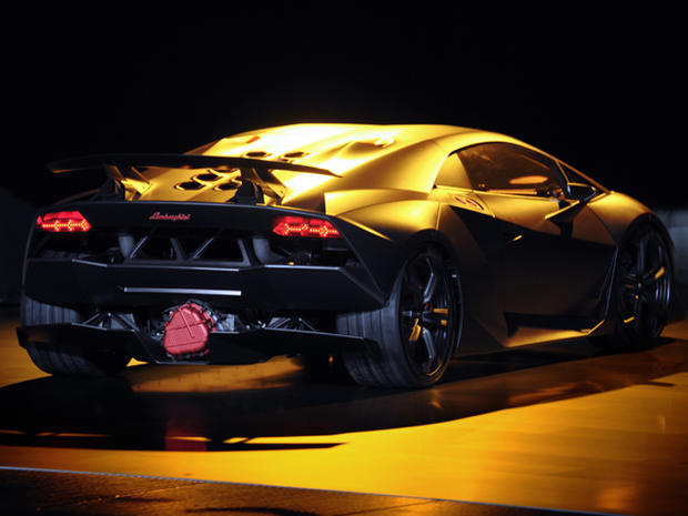 Lamborghini Sesto Elemento Transmission Lamborghini S 2m