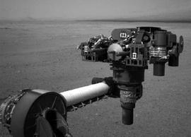 Mars rover Curiosity arm