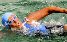 Diana Nyad pulled from water on fourth day