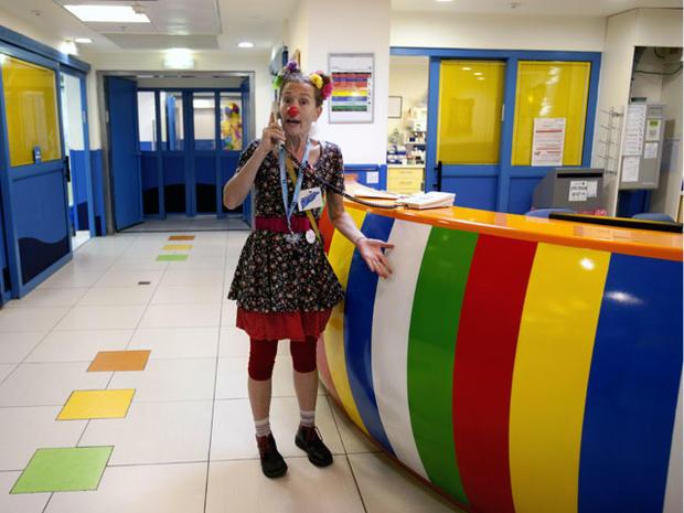 israel doctor clown