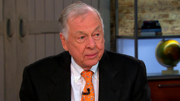 "T. Boone Pickens appears on ""CBS This Morning,"" Aug. 23, 2012."