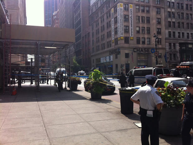 Shooting near Empire State Building (GRAPHIC IMAGES)
