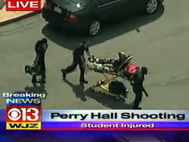 Perry Hall High School student shot on first day of school
