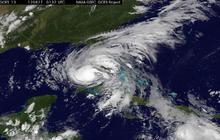 NASA/NOAA satellite time lapse images of Tropical Storm Isaac