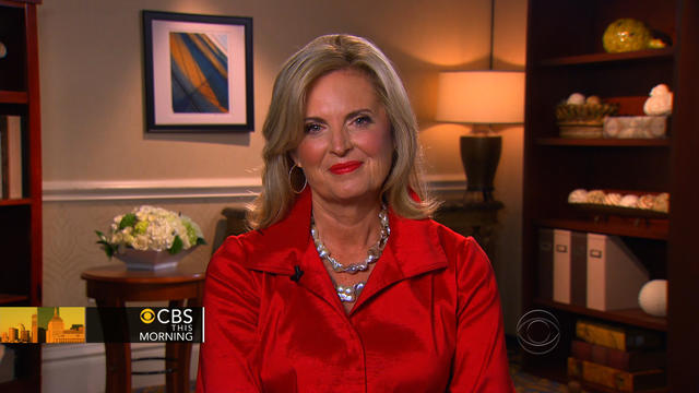 "Ann Romney on ""CBS This Morning."""