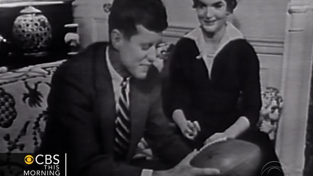 John F. Kennedy and Jackie Kennedy