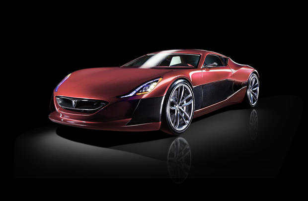 World S First 1 Million Electric Supercar Photo Pictures Cbs News