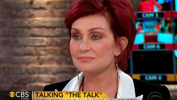 "Sharon Osbourne on ""CBS This Morning."""