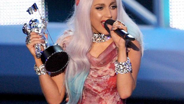 Lady Gaga Meat