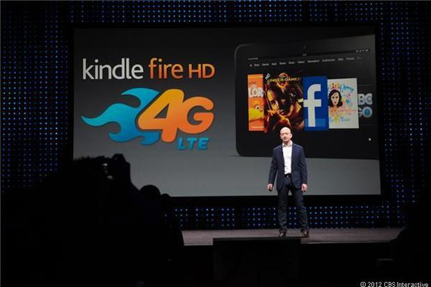 Amazon unveils new Kindle family