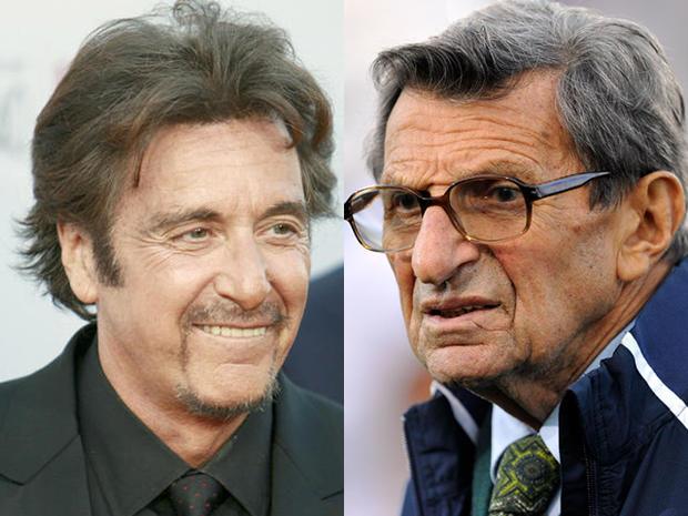 Al Pacino and Joe Paterno