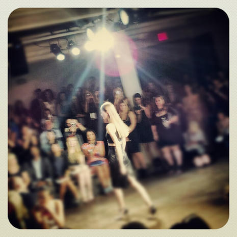 Instagram pics from NY Fashion Week