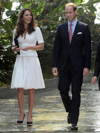 Prince William and Kate in Singapore