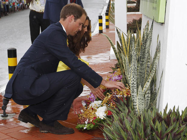 William and Kate in Solomon Islands, Tuvalu