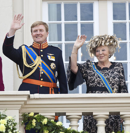 Prince's Day in  the Netherlands