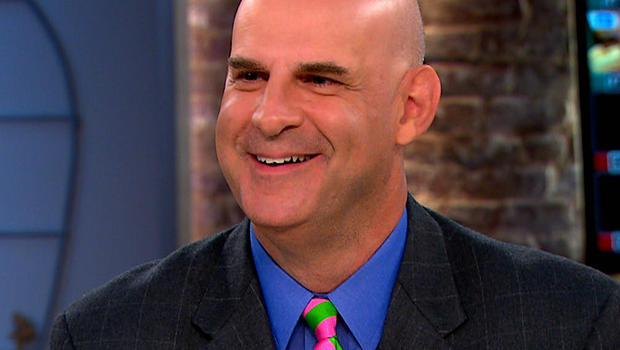"Harlan Coben on ""CBS This Morning."""