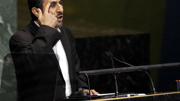 ahmadinejad calls 911 tragic slams israel cbs news