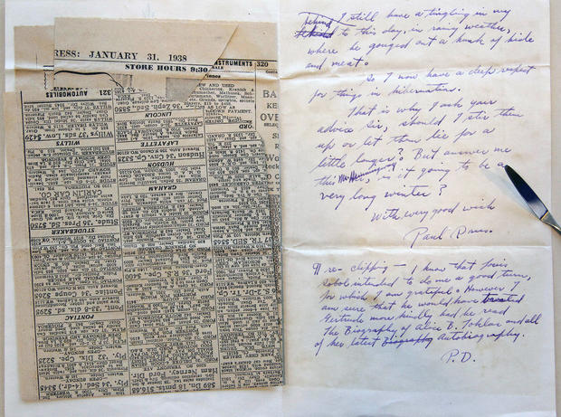 Saving Hemingway letters