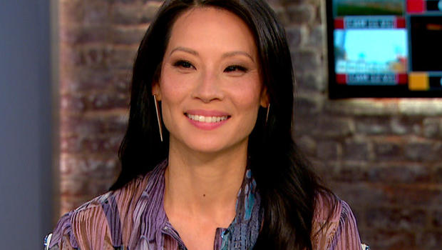 "Lucy Liu on ""CBS This Morning."""