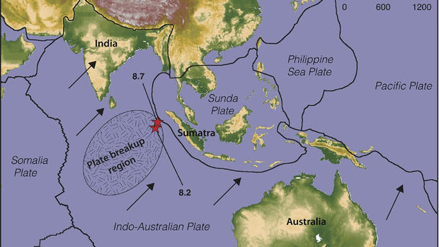 Earthquakes suggest new tectonic plate is forming - CBS News