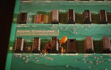 Rare Apple-1 computer on display