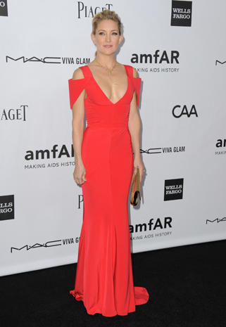 Stars strut at amfAR's Inspiration Gala