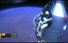 Skydiver breaks sound barrier in record jump