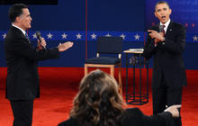 Second presidential debate: Taxes