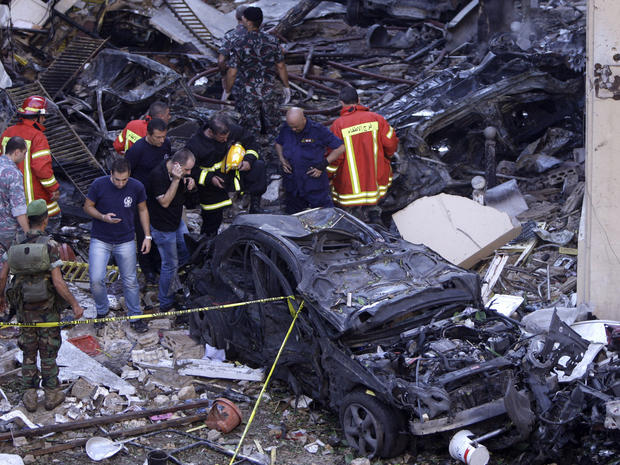 Car bomb kills 8 in Beiruit