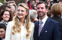 Luxembourg royal couple ties the knot
