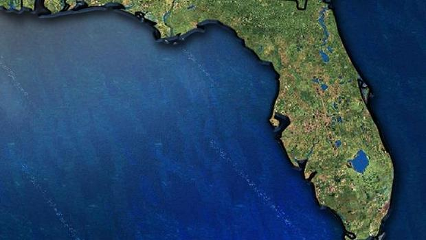 Skydive Instructor Student Killed In Florida Jump CBS News - Florida topographic map