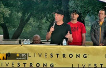 "Lance Armstrong on ""difficult"" few weeks"