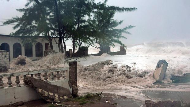 Jamaica - Hurricane Sandy