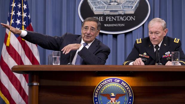 Martin Dempsey, Leon Panetta, pentagon