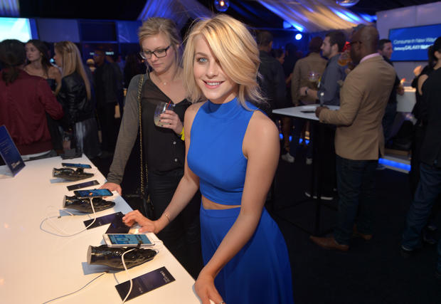 Host of stars celebrate Samsung launch