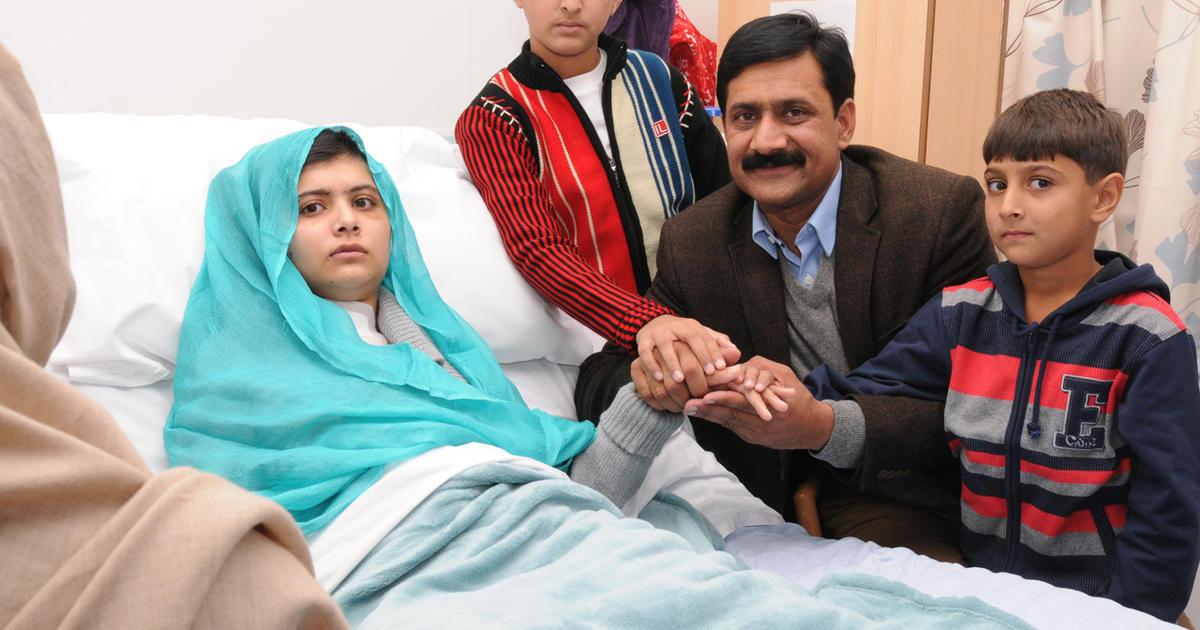 "Malala's father: ""She will rise again"" - CBS News"